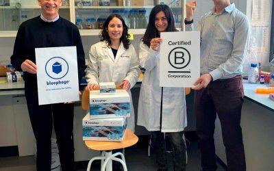 Bluephage is a Certified B Corporation!