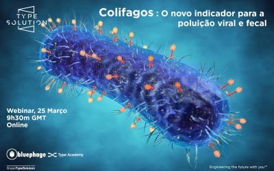 Type Solution invites Bluephage to discuss the relevance of coliphages as new viral indicators in water analysis, according to the New European Drinking Water Directive
