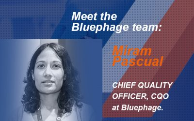 Meet Miriam Pascual, Chief Quality Officer (CQO) at Bluephage