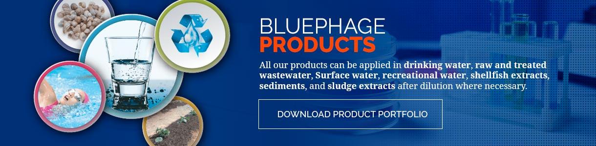Bluephage product portfolio