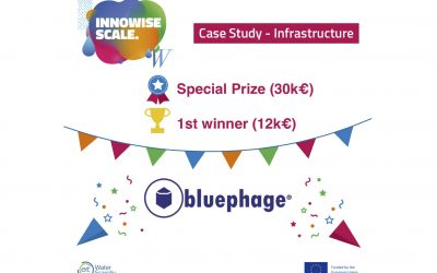 Bluephage wins the Innowise Scale Infrastructure Competition organized by the European Institute of Innovation and Technology, EIT