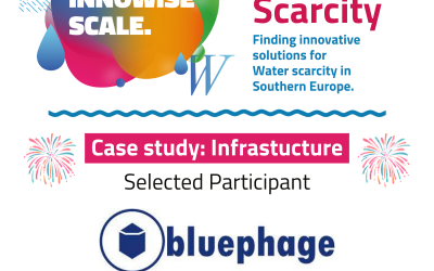What can Bluephage do to combat the water scarcity crisis?